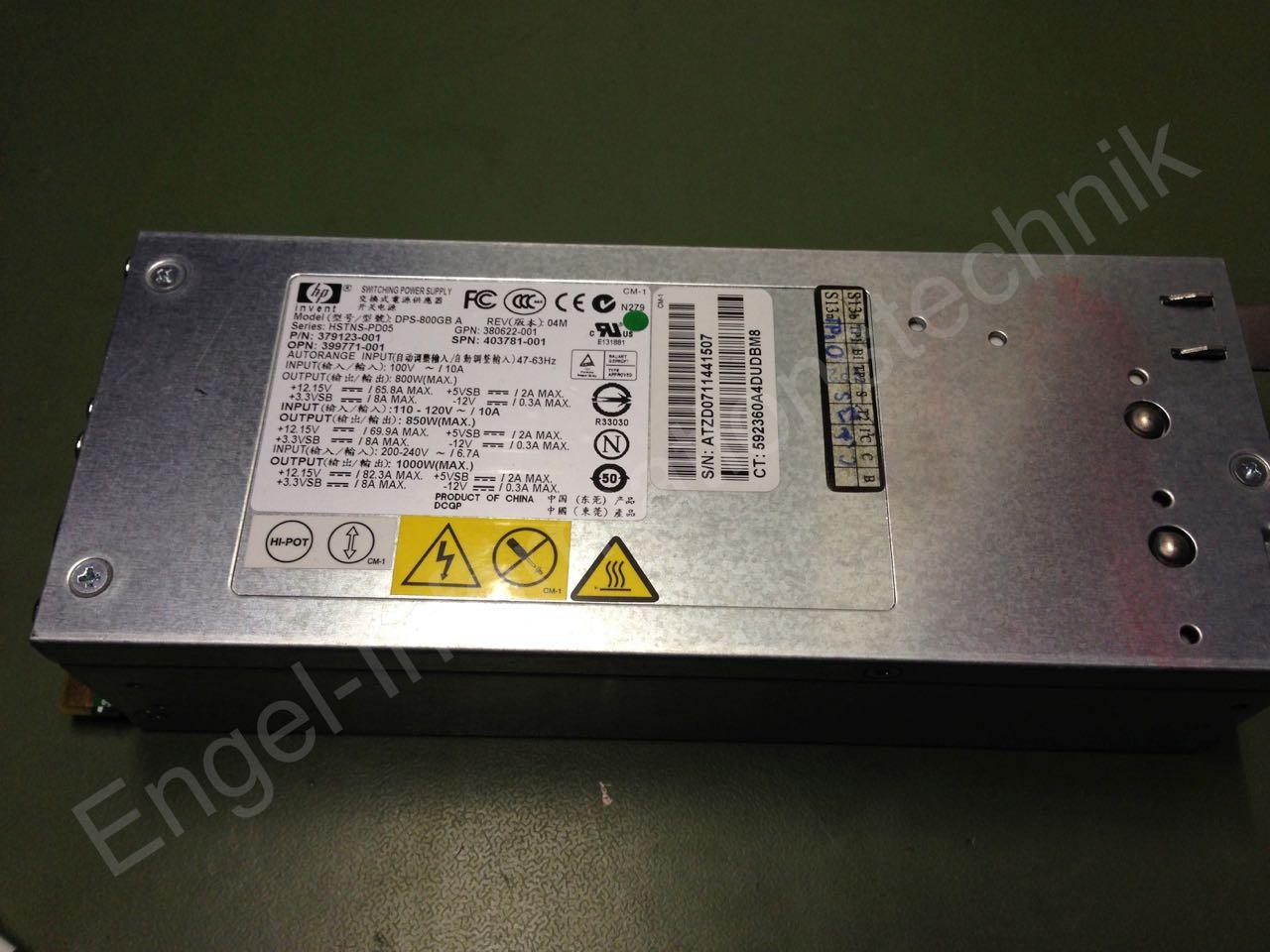 HP DPS-800GB a