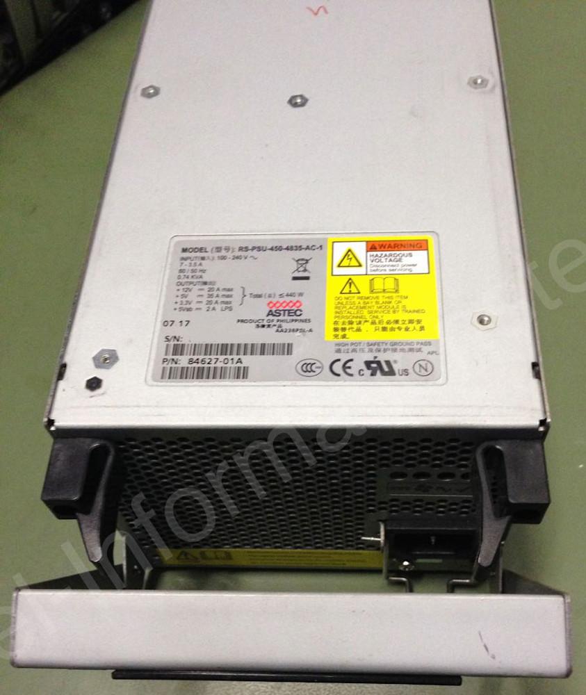 Astec RS-PSU-450-4835-AC-1 oder Netzteil-Modell von Xyratex