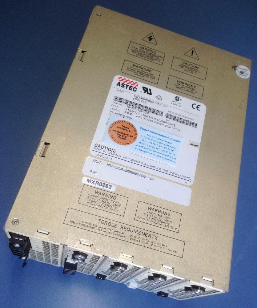 Netzteil Astec VS3, Serie, Reparatur aller Modelle