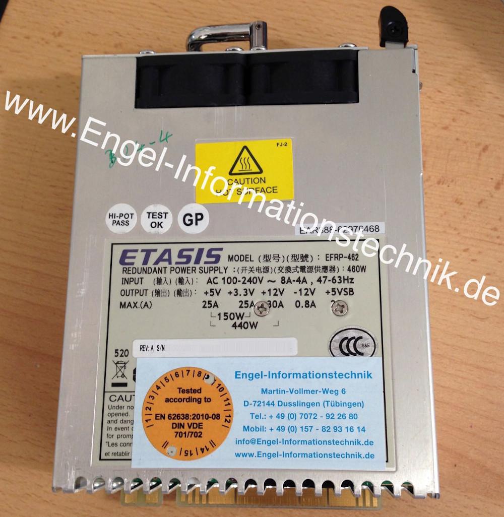 EFRP-462, Etasis