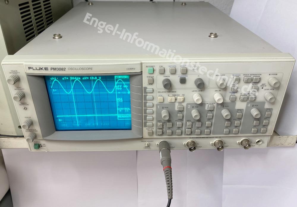 Fluke PM3082, Oscilloscope, Labormessgerät
