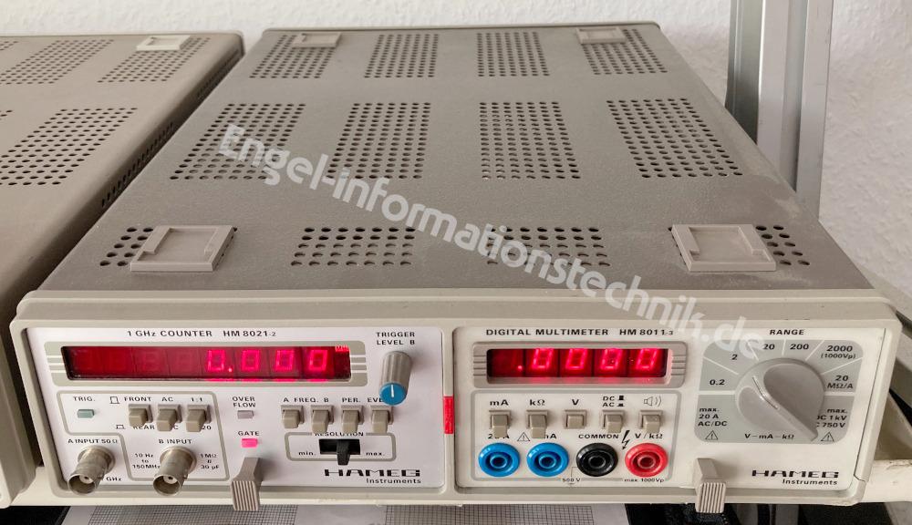 Hameg HM 8021-2, Laborgerät