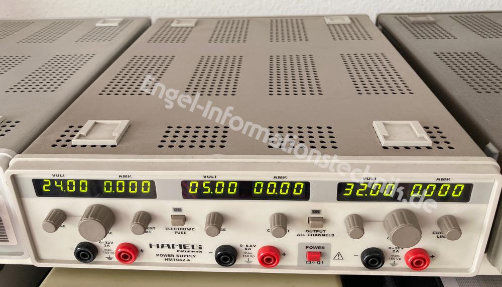 HM7042-4 von Hameg, Labornetzgerät