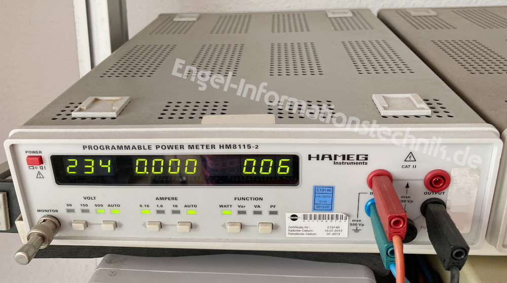 HM8115-2 von Hameg, Labornetzgerät